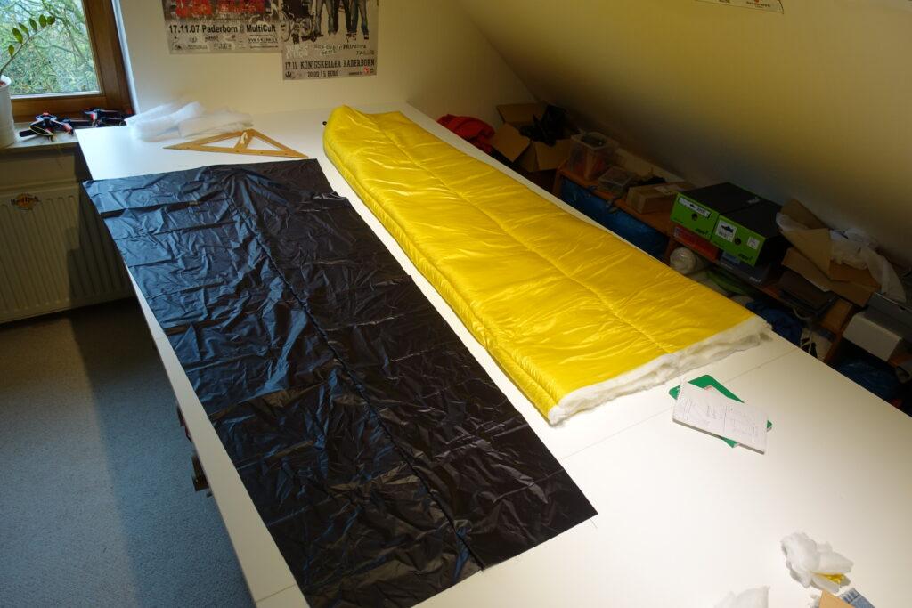 sleepingbag nearly done
