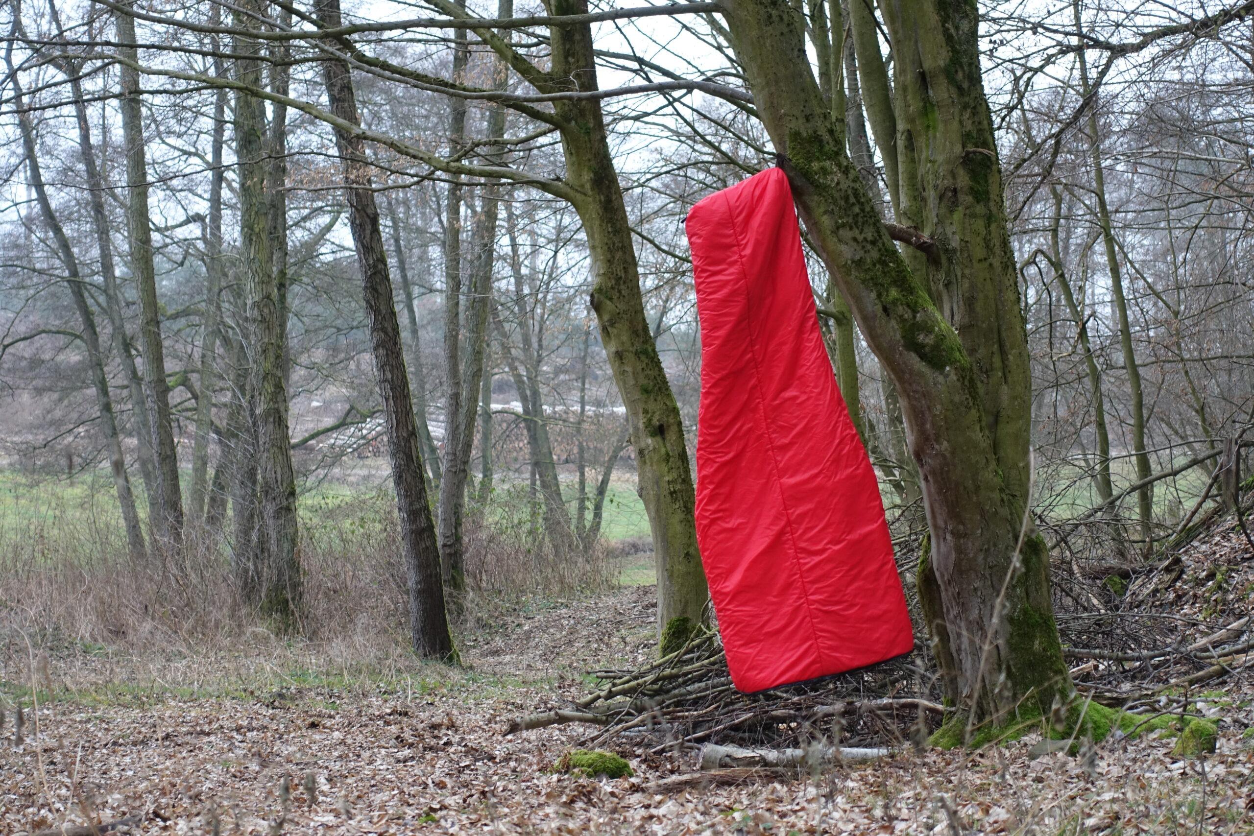 Schlafsack sleepingbag hanging